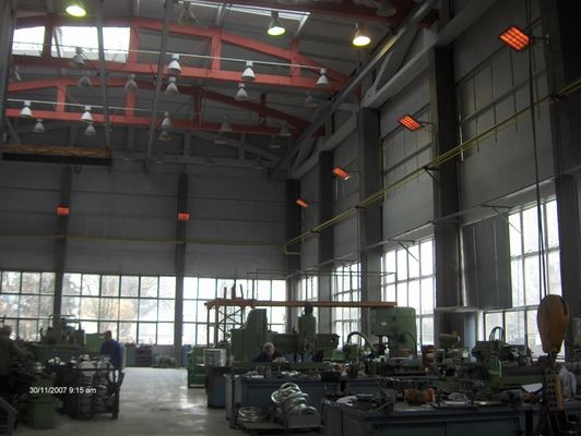 Отопление на производствени помещения