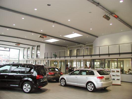 Отопление на сервизи и гаражи